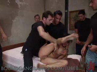 Kejam seks dengan banyak pria dari sebuah filthy perempuan cabul