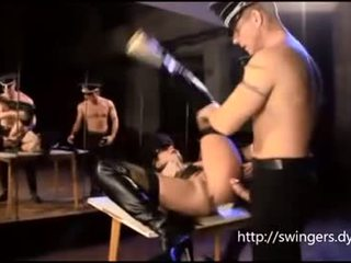 ARMY SLUT Fetish with Two Army man
