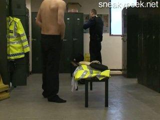 Rookie policial apanhada nu!