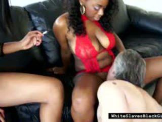 lick, black and ebony, interracial