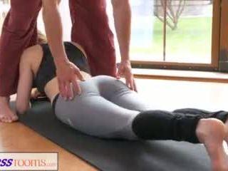 fitness, romântico, yoga pants