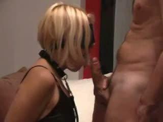 Amateur slaaf slet used door two guys video-