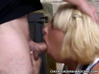 Cum Loving Cheerleader Drilled