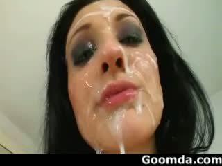 cumshots, facials