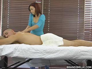 Brandi belle gives ett sensuous anus hole runk jobb beste ved det punkt