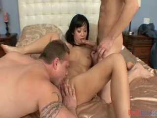 Sensuous hytaý slut& guy having made love hard core by another male