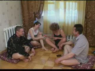 bande, partie, russe