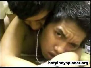 Two pinoy boys having een heet neuken