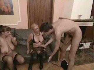 Amatorskie dojrzała swingers trójkąt seks wideo