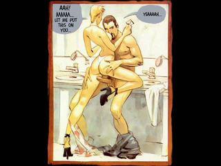 Erótico hardcore sexo cómico