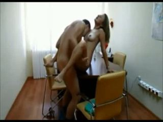 Amateur hot blonde on real homemade