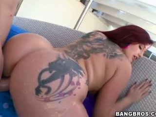 Jumbo tits and ass Dayna Vendetta fucked