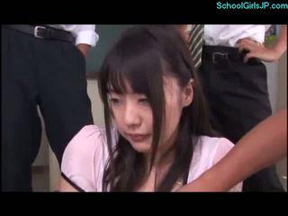 japānas, skolnieces, asian