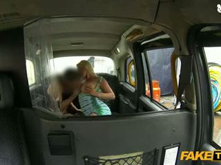 falešný, léta, taxi