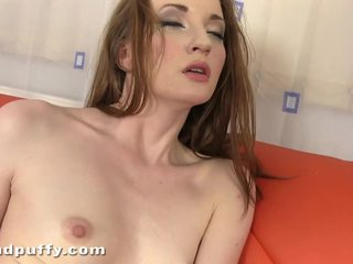 Horny Youngster Gal Nancy Touching Her Tiny Pink Ass Hole Tunnel