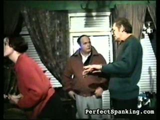 spanskrør, spanking, pisking