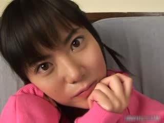 جذاب الآسيوية فتاة استمناء فيديو
