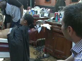 Little Barbershop Of Whore A Shave And A Haircut Two Tits