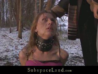 deepthroat, sexo al aire libre, tortura