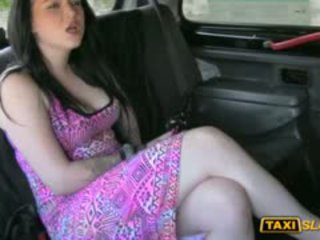 Tattooed Big Boobs Whore Banged For A Free Taxi Fare