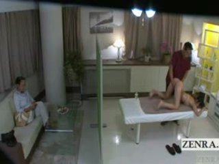 Subtitled nhật bản nư sinh idol hopeful mông massage