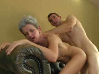 Lovely: Cum Swallowing & Mature Porn Video a0