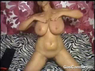 Horny Girl With Saggy Tits