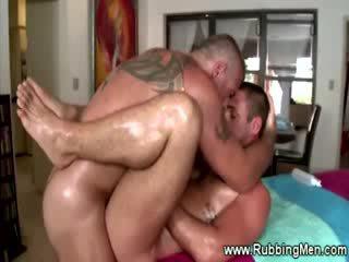 Hetro guy gets his asshole massaged