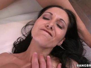 brunetă, groupsex, sânii mari