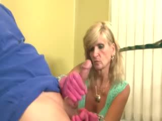 Cougar dame is beating de bishop