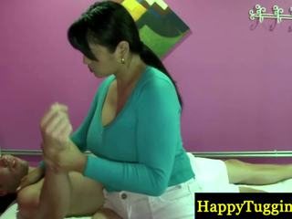 Tikras tailandietiškas masseuse playthings arti į zonker