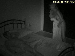 Hidden spy cam sex tape Video