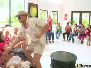 瘋狂的 bachelorette 黨, 免費 跳舞 承擔 高清晰度 色情 75