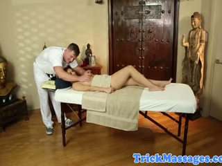 Cindy Starfall Naked At Her Massage