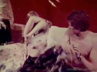 retro porn, vintage sex, retro pool kön