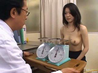 יפני av מודל חמוד משרד נערה