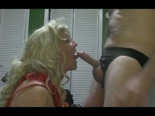 dalam, crossdresser, blowjob