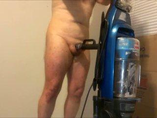 Er manière à baise une vacuum cleaner