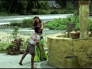 Nayanthara seksi navel dan payudara kompilasi