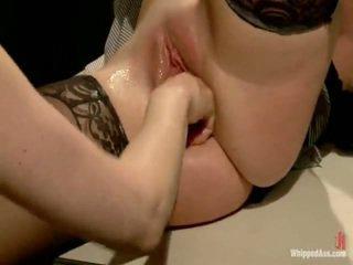 lesbische seks, voorlegging, bondage sex
