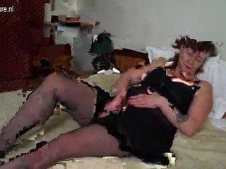 big boobs, grandmother