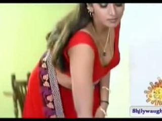 South india actriz bhuvaneshwari navel espectáculo