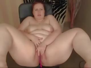 Chubby Pale Redhead Squirts, Free Chubby Free Porn Video 67