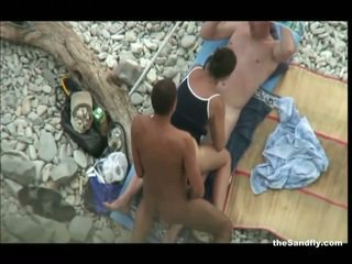 Thesandfly karstākie publisks pludmale darbība!