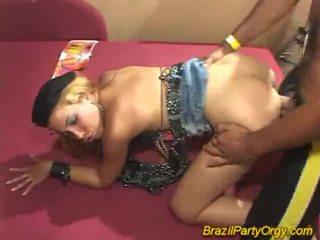Blondynka smaba dancer are banged w impreza