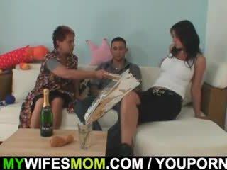Oldie seduces her daughter's man
