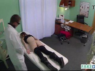 Hardcore sex in fake hospital