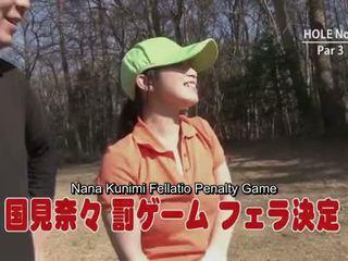 Subtitled uncensored japānieši golfs handjob minēts spēle