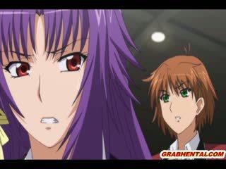 Japans hentai schoolmeisje self masturbation