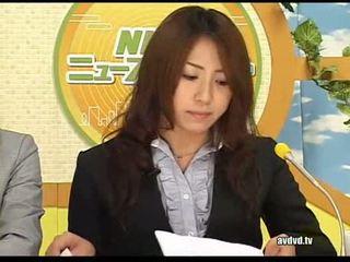 जपानीस newsreaders ayumu sena और fuuka minase squirting l